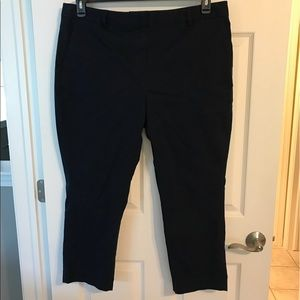 Lands' End navy pants